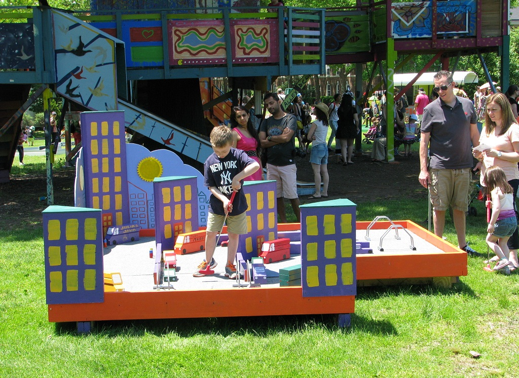 FIGMENT NYC Is Changing The Rules With Mini Golf Course Designs