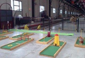 Mini Golf Course Theme