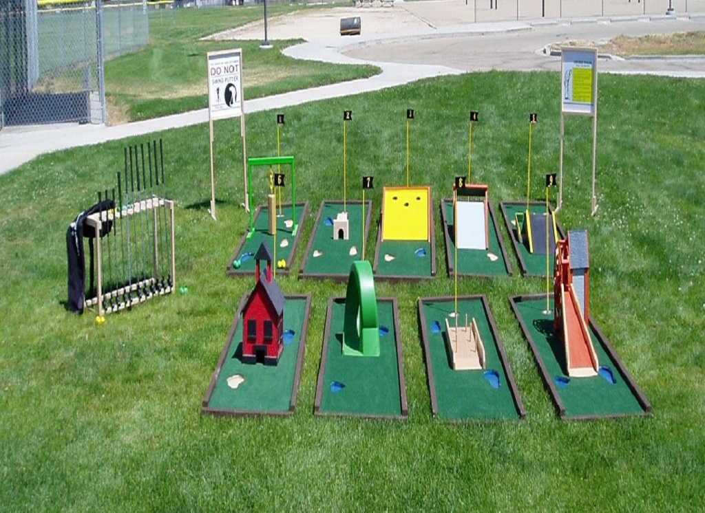 Park Mini Golf Course Design