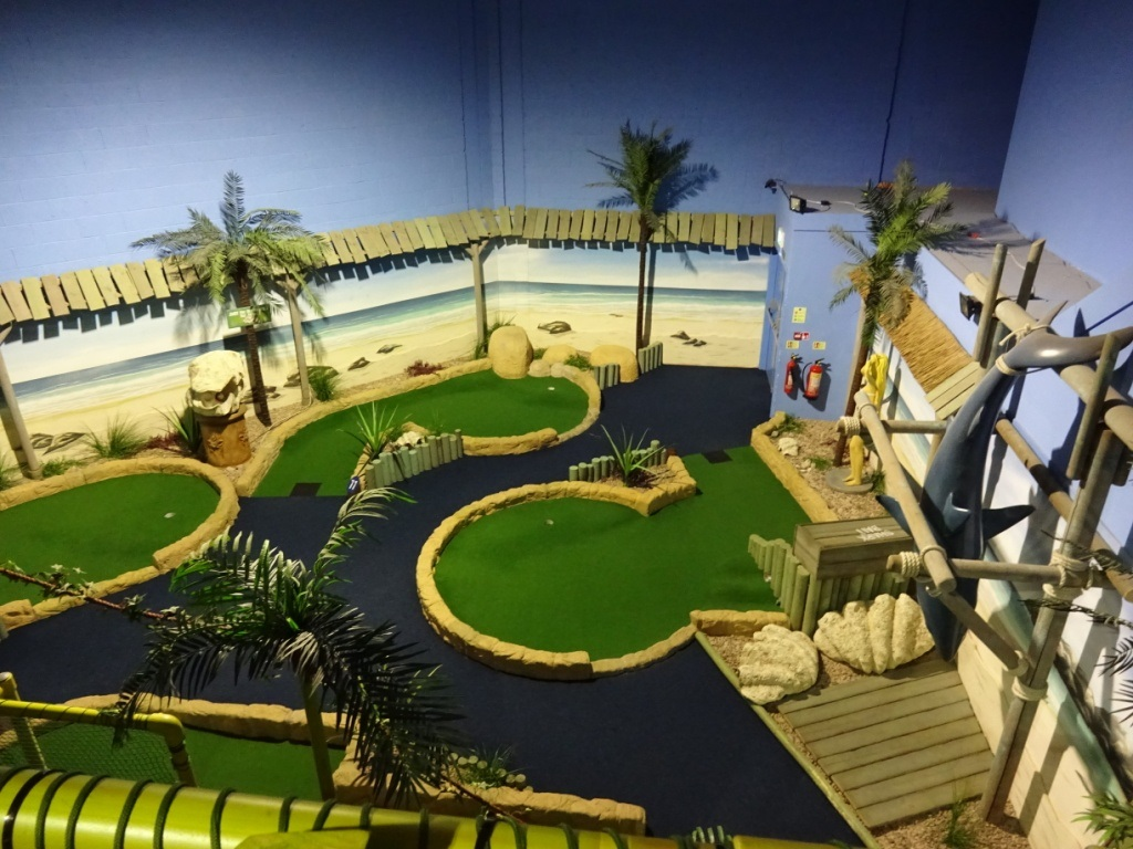 Design Night MIni Golf Course