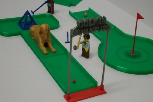 3d Printed Mini Golf Industry